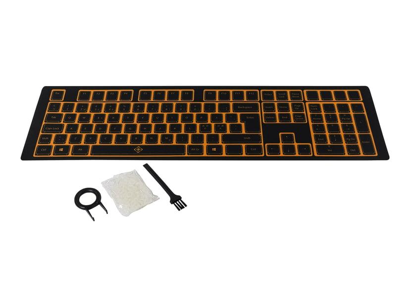 Deltaco förbättrings-kit för mekaniska tangentbord