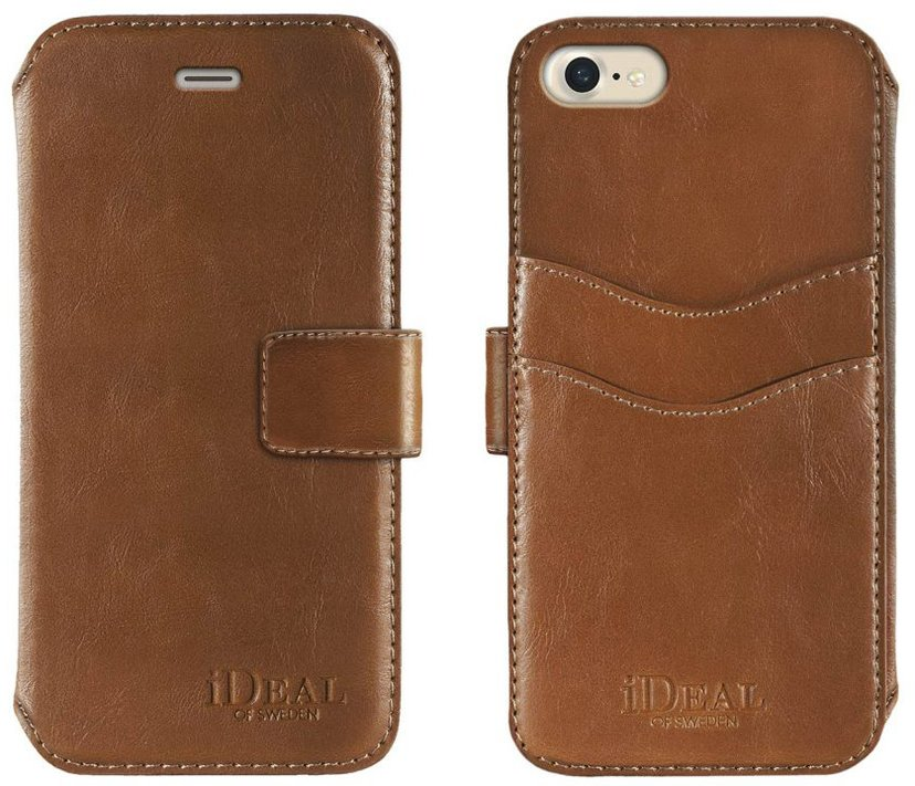 iDeal of Sweden Sthlm Wallet iPhone 6/6s, iPhone 7, iPhone 8, iPhone SE (2020) Brun