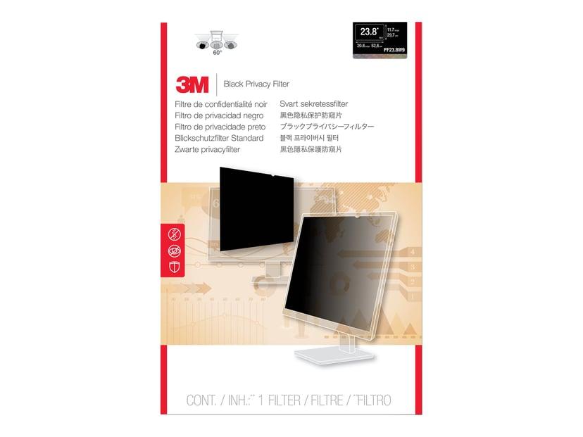 "3M Databeskyttelsesfilter til 24"" widescreen-skærm (16:10) 24"" bred 16:10"
