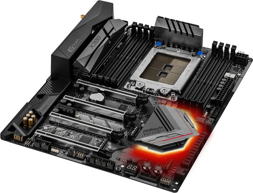 ASRock Fatal1ty X399 Professional Gaming Moederbord ATX