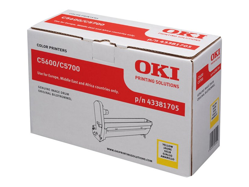 OKI Tromle Gul - C5600/5700