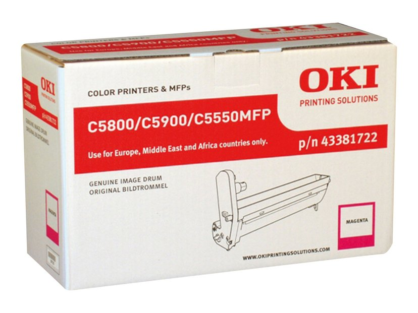 OKI Tromle Magenta - C5800/5900