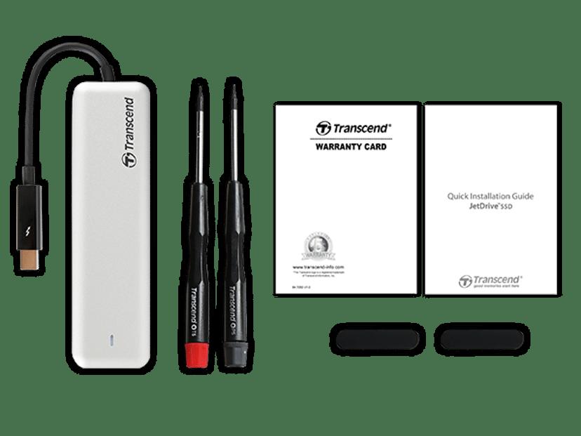 Transcend JetDrive 825 960, 960,000GB Thunderbolt