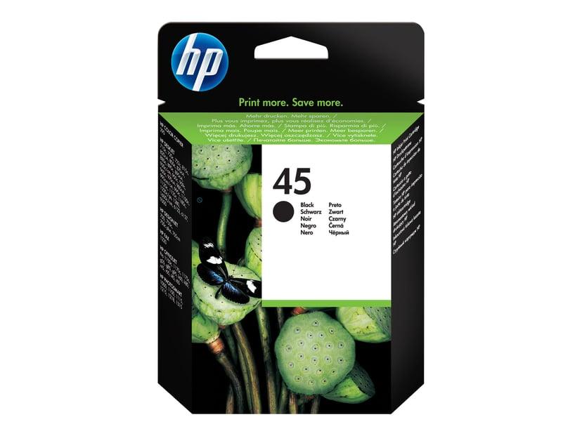 HP Bläck Svart No.45 - OJ/DJ/OfficeJet PRO/DNJ/Photo