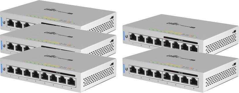 Ubiquiti UniFi Switch US-8-60W 5-pack
