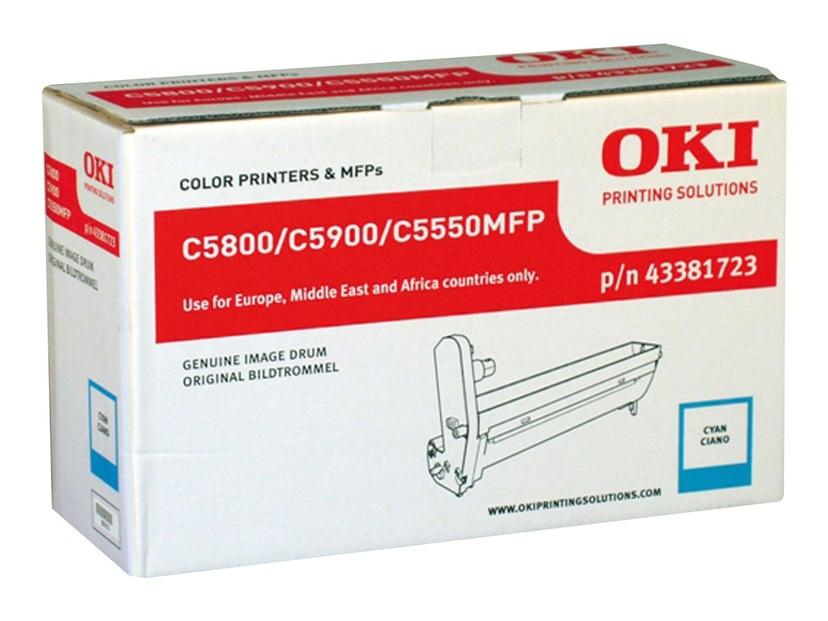 OKI Tromle Cyan - C5800/5900