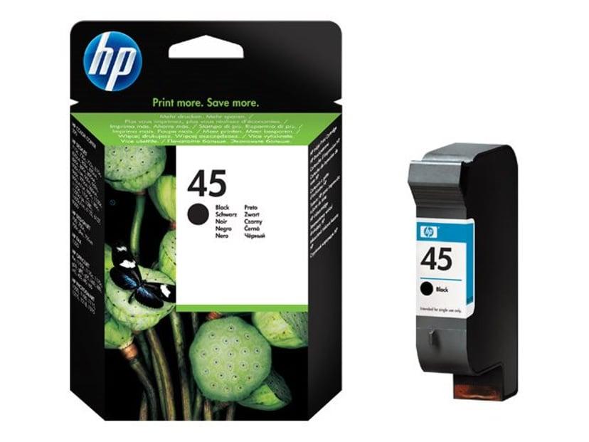 HP Inkt Zwart No.45 - OJ/DJ/OfficeJet PRO/DNJ/Photo