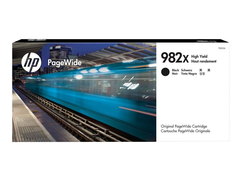 HP Blekk Svart 982X 194ml - T0B30A