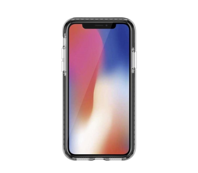 Cirafon Hybric Case Triple Layer iPhone X, iPhone Xs Zwart