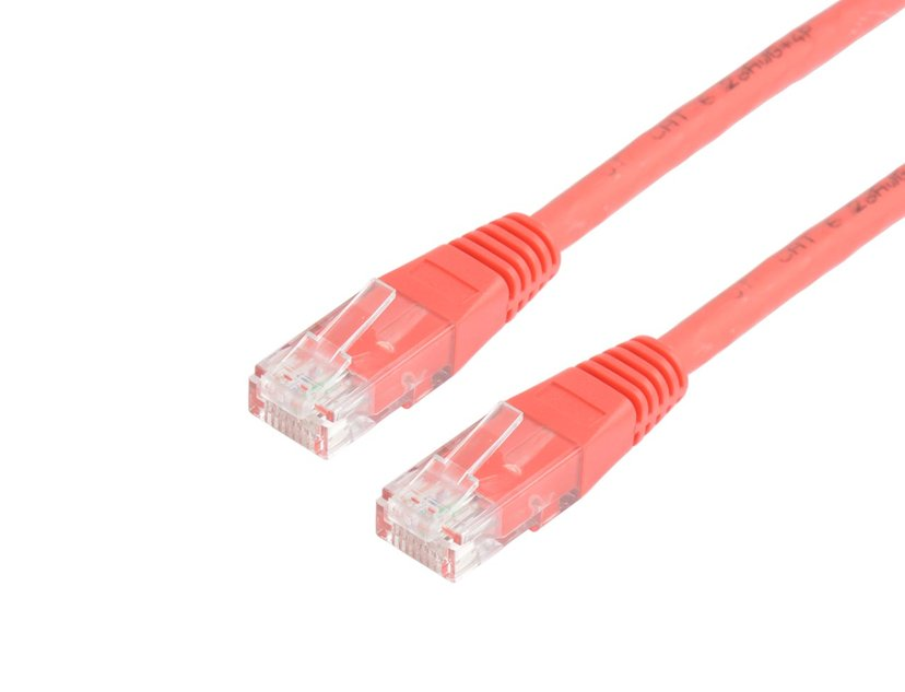 Prokord Prokord UTP CAT.5E Unshielded RJ45 Lszh 1m Red RJ-45 RJ-45 CAT 5e