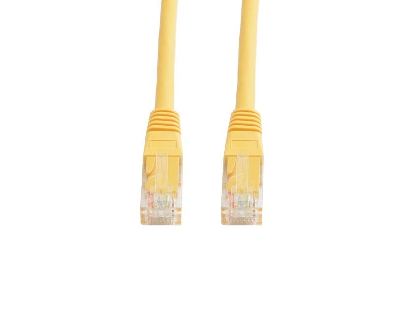 Prokord Prokord UTP CAT.5E Unshielded RJ45 Lszh 2m Yellow Geel RJ-45 RJ-45 CAT 5e 2m
