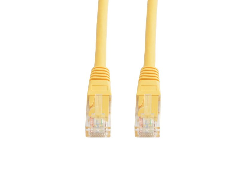 Prokord Prokord UTP CAT.5E Unshielded RJ45 Lszh 5m Yellow Geel RJ-45 RJ-45 CAT 5e 5m