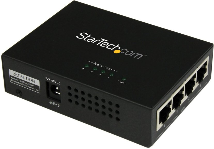 Startech 4-port Gigabit Midspan