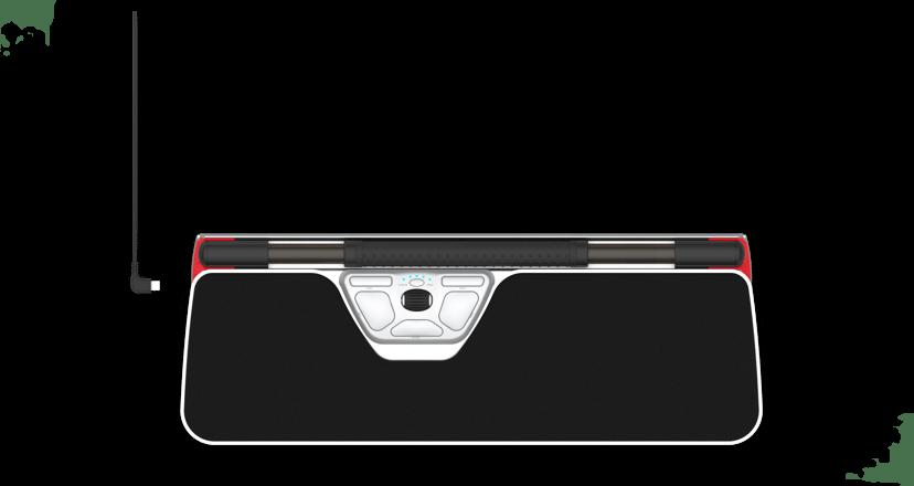 Contour Design Rollermouse Red Plus Wireless 2,800dpi Trådlös Svart