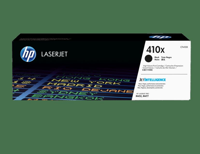HP Toner Sort 410X 6.5K - CF410X