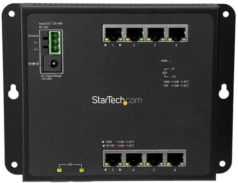 Startech Switch Gigabit 2x SFP Managed