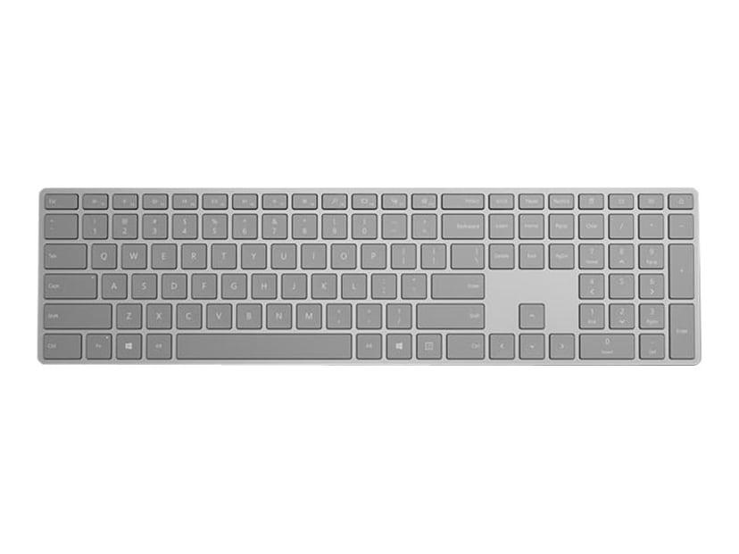 Microsoft Surface Keyboard Trådløs Tastatur Engelsk - Storbritannia og Nord-Irland Grå