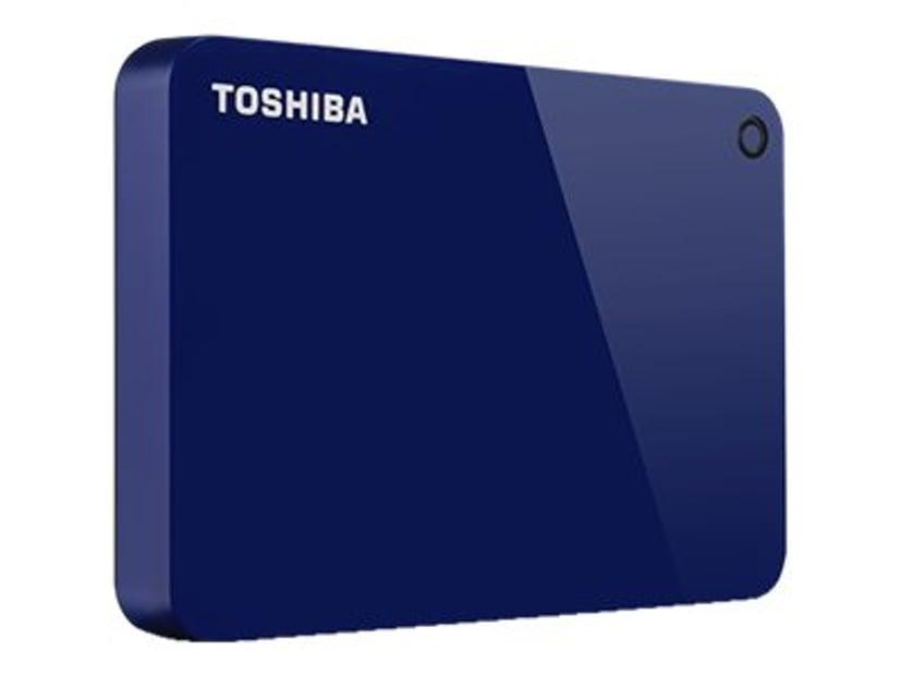 Toshiba Canvio Advance 2TB Blå