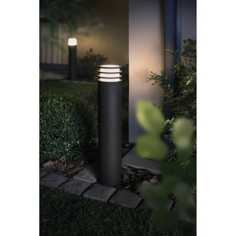 Philips Hue Lucca Utomhusstolpe White Ambiance