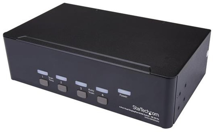 Startech 4 Port Dual DisplayPort KVM Switch