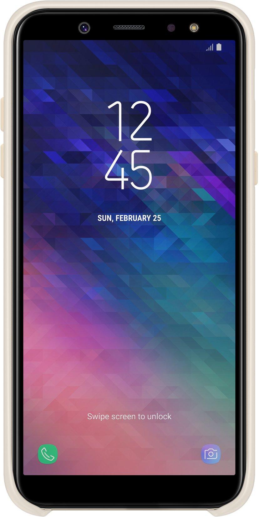 Samsung Dual Layer Cover Samsung Galaxy A6 Gull