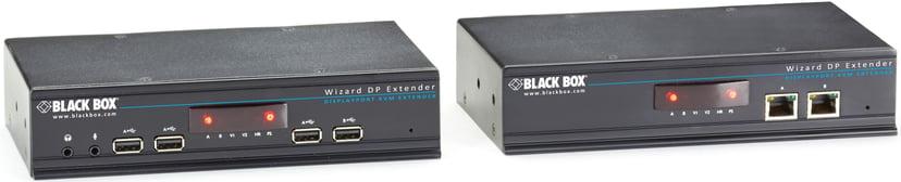Black Box Display Port And Thunderboltw/USB 2.0 Catx Extender