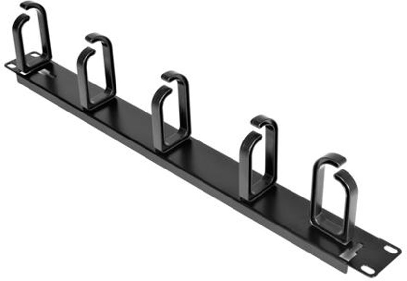 "Startech 1U 19in Metal Rackmount Cable Management Panel 19"""