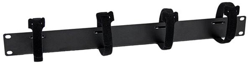 """Startech 1U Touch Fastener Horizontal Rack Cable Management Panel 19"""""""