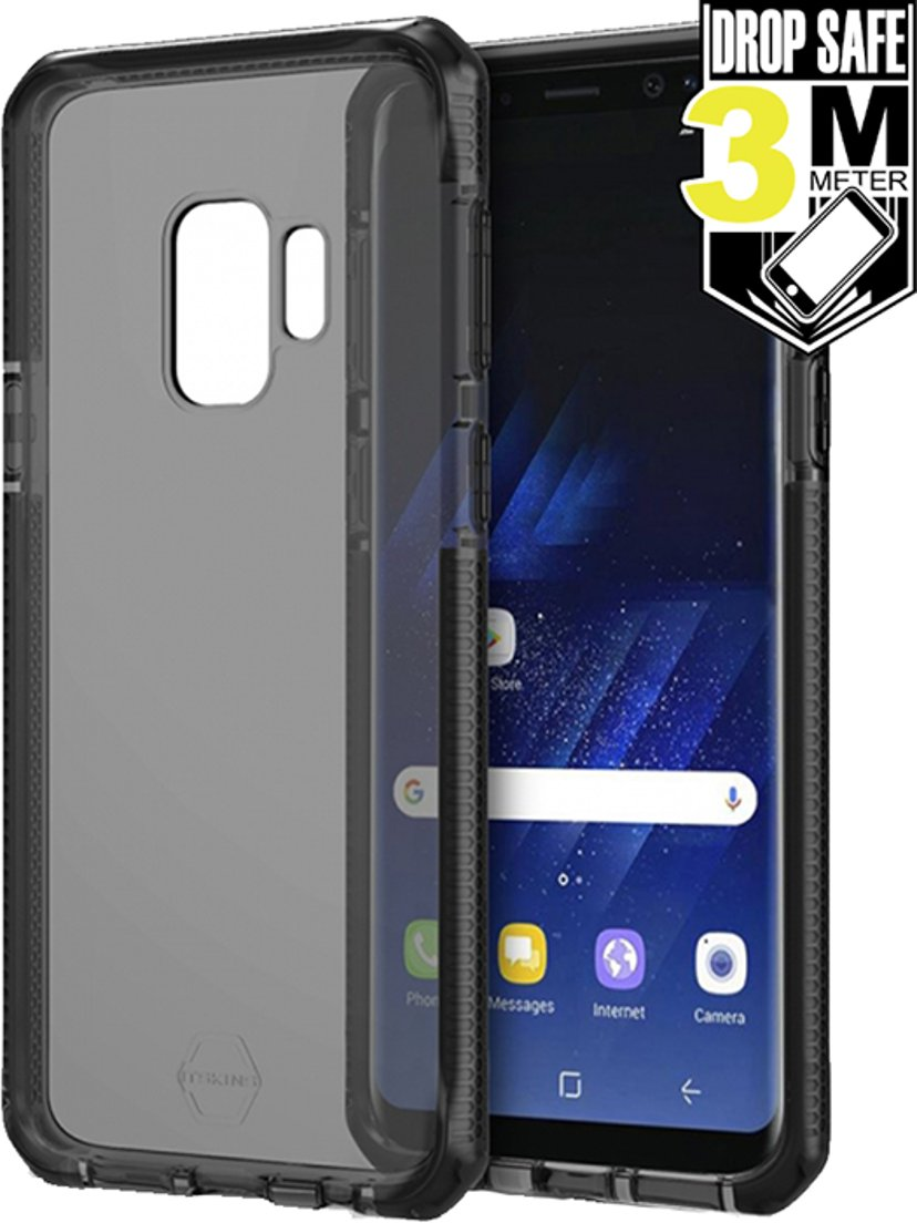 Cirafon Supreme For Galaxy S9 Black Samsung Galaxy S9 Svart på transparent