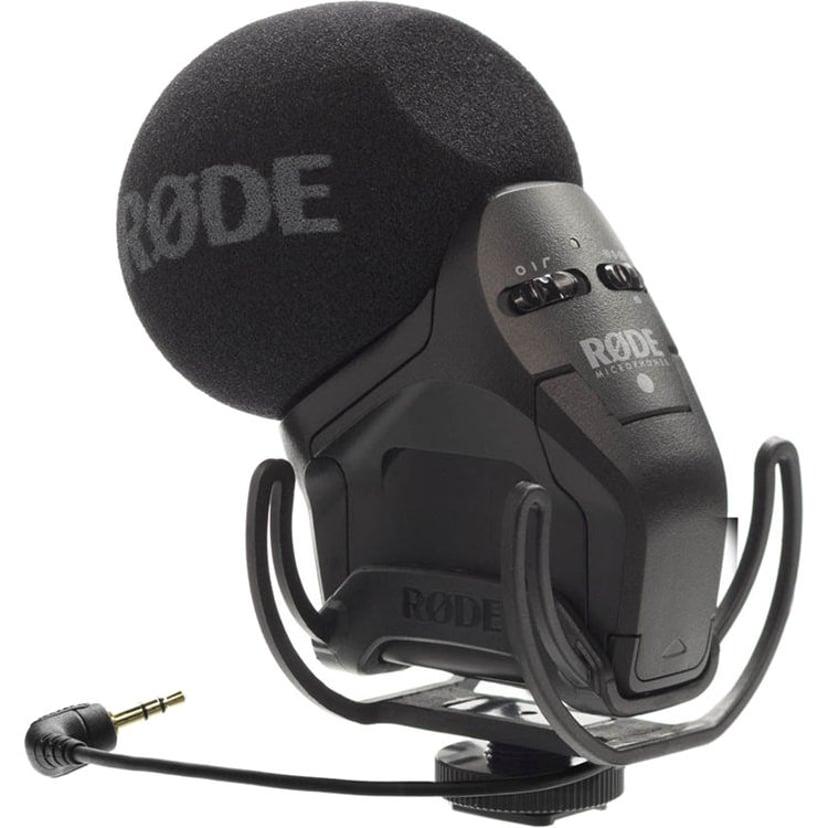 Røde Stereo Videomic Pro Rycote Svart