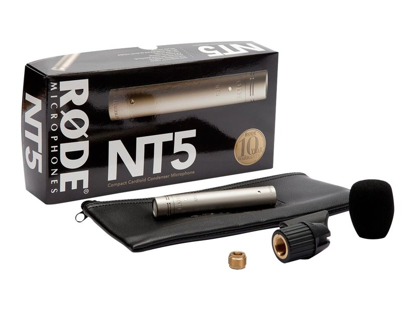 Røde NT5 Matched Pair Condensator Microphone Grå