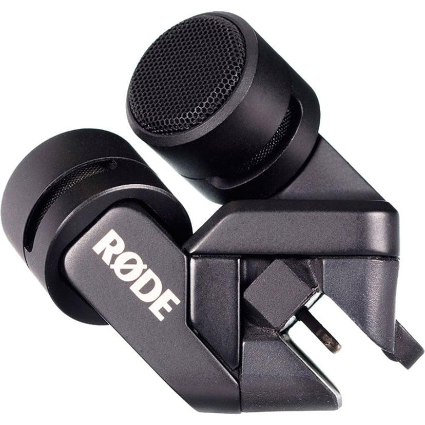 Røde iXY Stereo Microphone (Lightning Connector) Svart