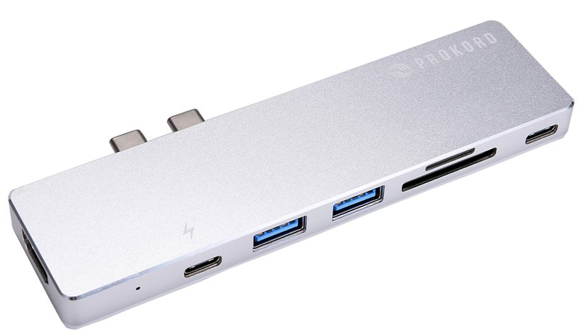 Prokord Pro Dock 4K for Macbook Pro Thunderbolt 3 Mini-dock