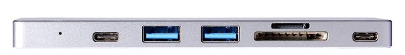 Prokord Pro Dock 4K for Macbook Pro/Air Mini-dockningsenhet Thunderbolt 3