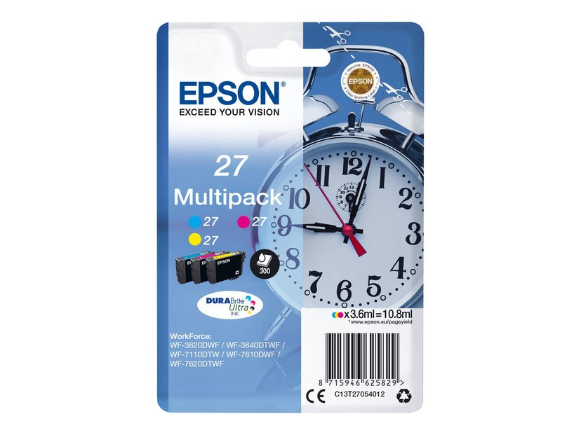 Epson Blekk Multipack 27 (C/m/Y)