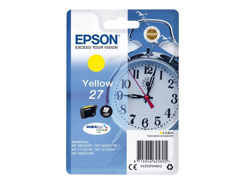 Epson Blekk Gul 27