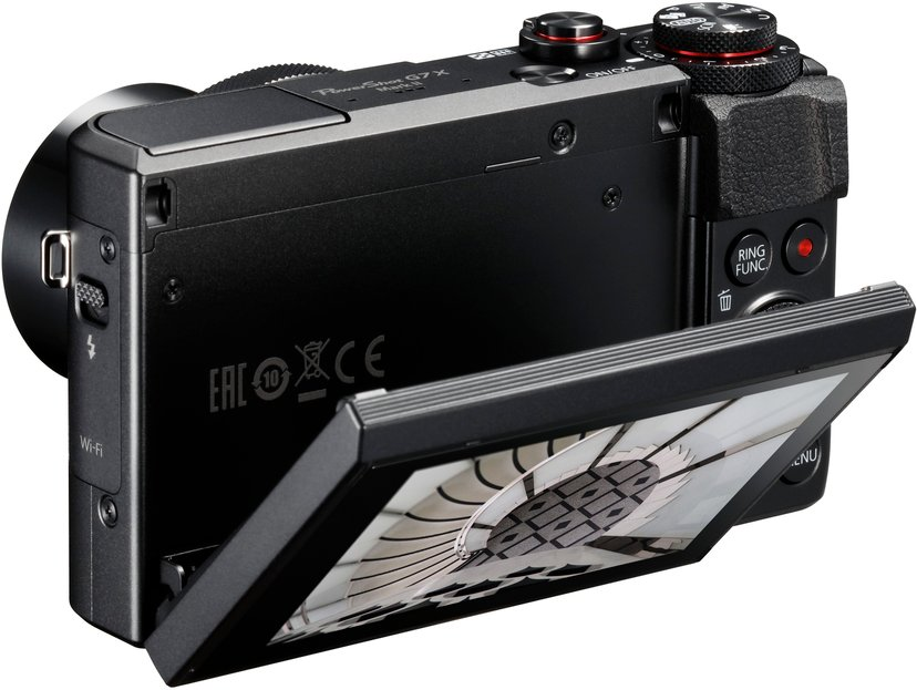 Canon Powershot G7 X Mark II + 64GB MicroSD A1 C10 V30 UHS-I U3