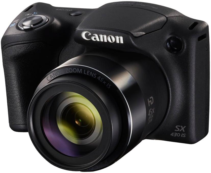 Canon PowerShot SX430 IS + 64GB MicroSD A1 C10 V30 UHS-I U3
