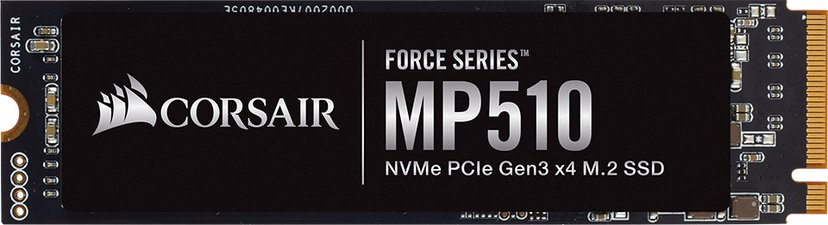Corsair Force Series MP510 960GB M.2 2280 PCI Express 3.0 x4 (NVMe)