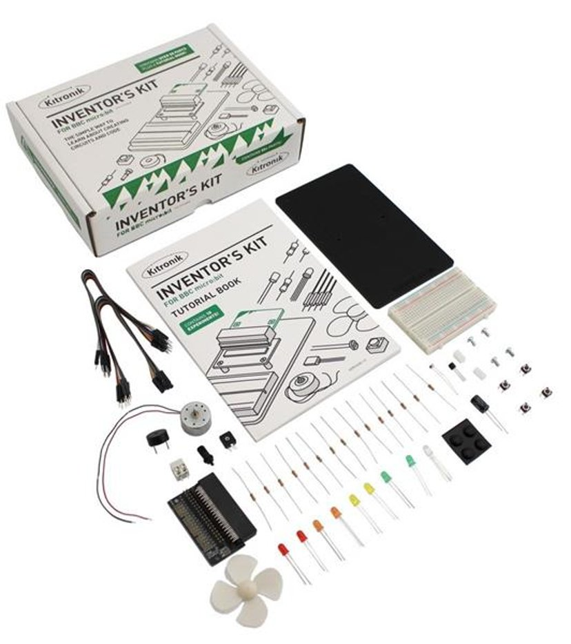 Kitronik Inventors Kit For BBC Micro:bit With 10 Experiment