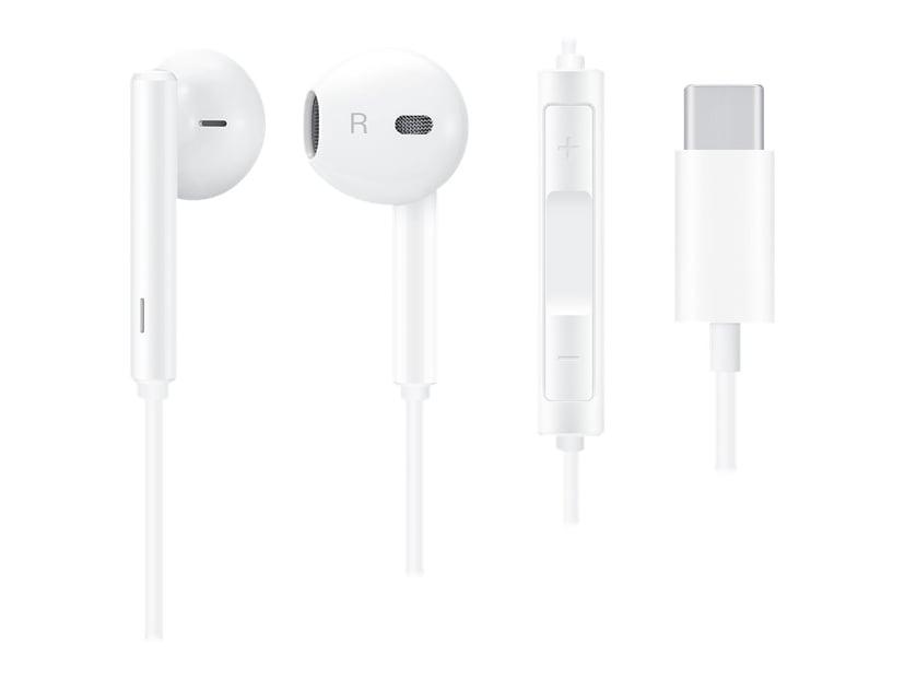 Huawei In-Ear Headset USB-C cm33 White Hvit