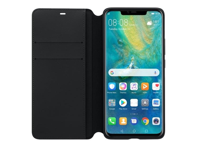Huawei PU Wallet Huawei Mate20 Pro Svart