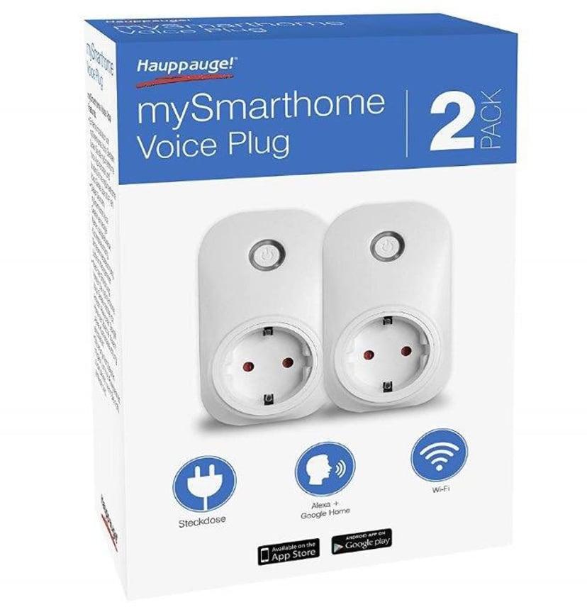 Hauppauge Mysmarthome Voice Plug 2-Pack