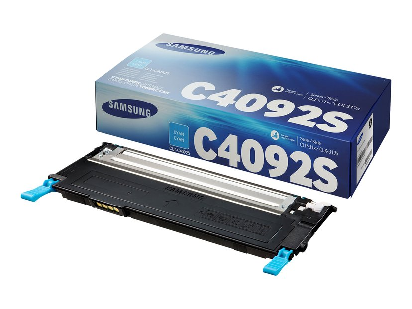 HP Samsung Toner Cyan CLT-C4092S 1K