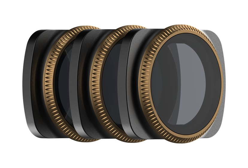 PolarPro Cinema series Vivid 3-pack ND/PL-filter Osmo Pocket