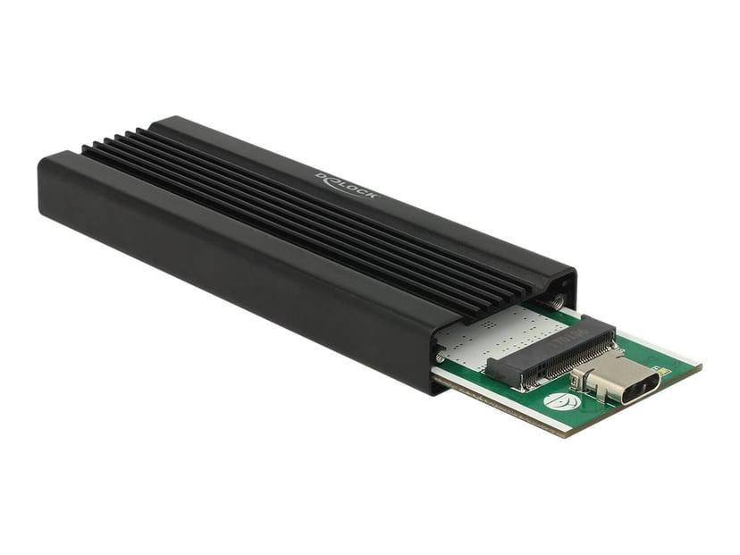 Delock NVME-Kabinett USB 3.1 (Gen 2) Svart