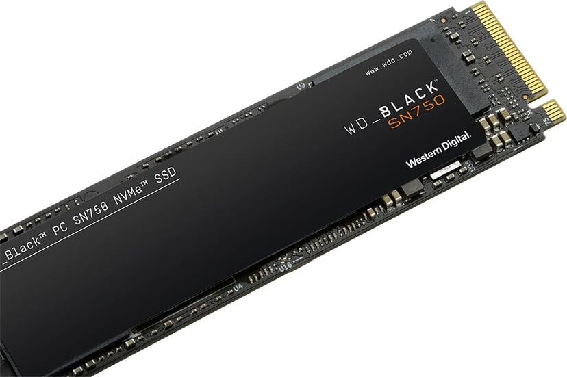 WD Black SN750 1000GB M.2 2280 PCI Express 3.0 x4 (NVMe)