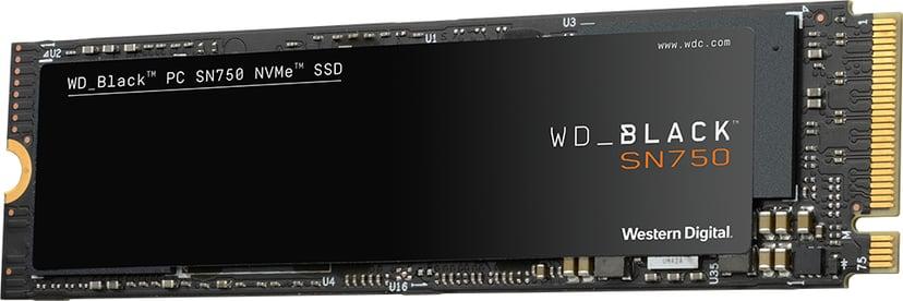 WD Black SN750 1000GB PCI Express 3.0 x4 (NVMe) M.2 2280