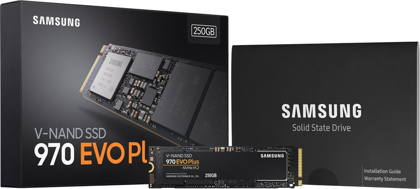 Samsung 970 EVO Plus 250GB M.2 2280 PCI Express 3.0 x4 (NVMe)