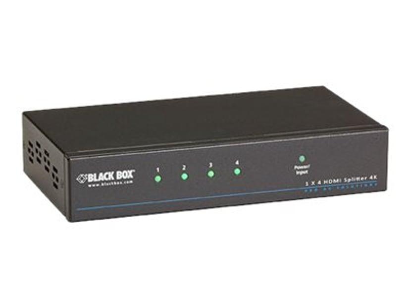 Black Box 4K HDMI Splitter 1 x 4
